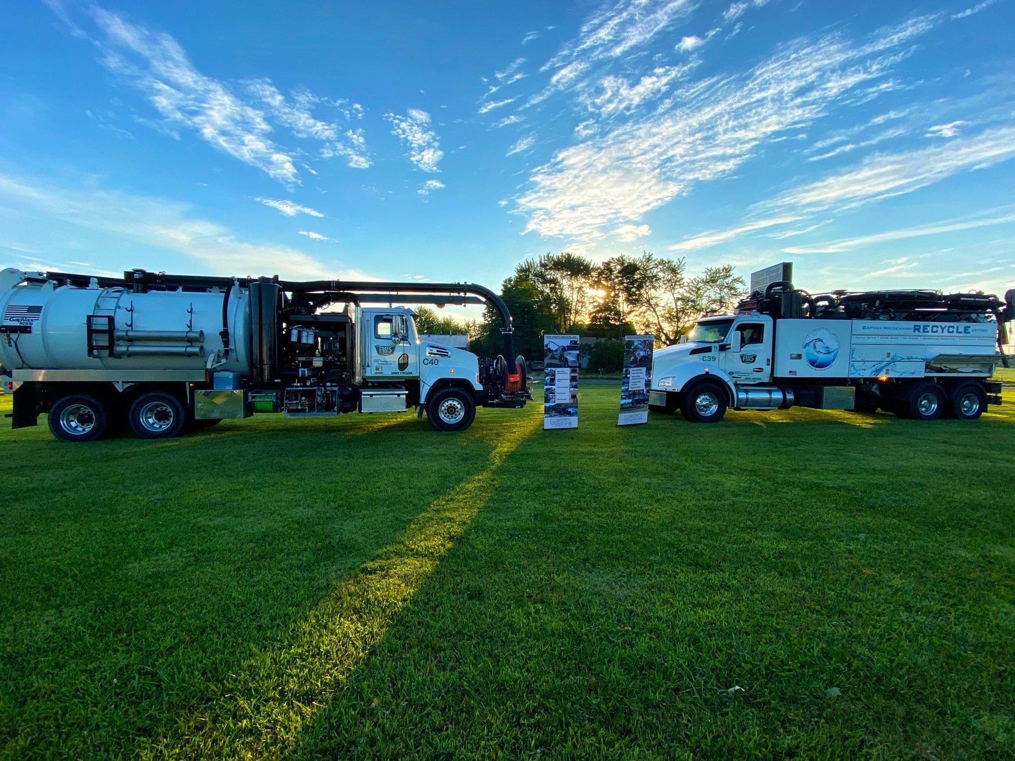 Fluid Waste Services Fleet